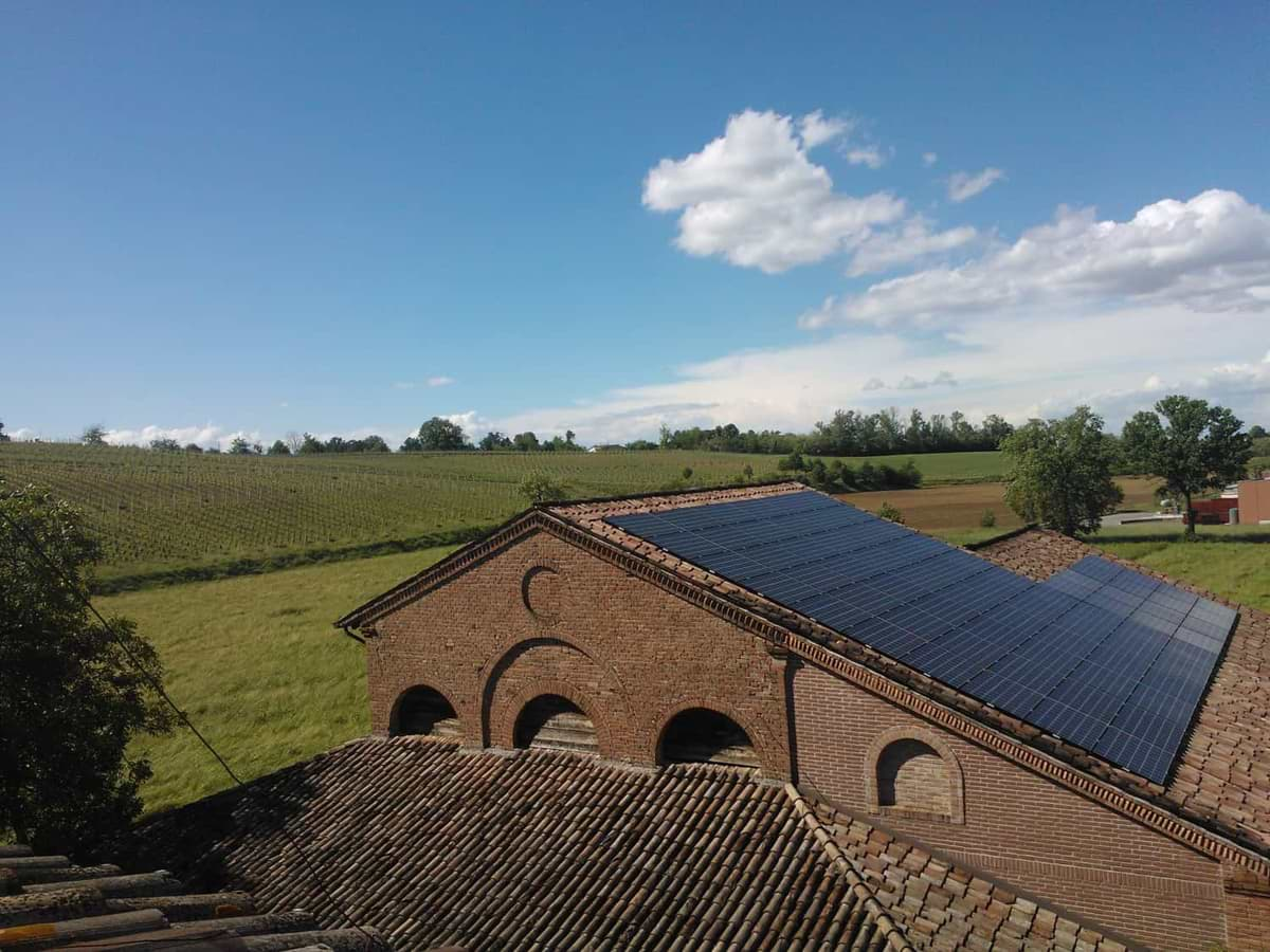 Casa Benna impianto fotovoltaico
